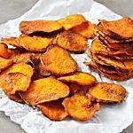 Descubra como preparar chips de batata doce assado - Gastronomia - Lifestyle