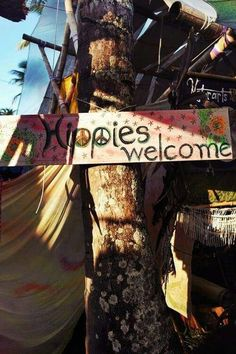 ☮ American Hippie ☮ Hippies Welcome