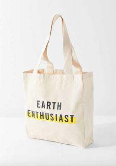 FEED Earth Enthusiast Tote Bag a nice buy and a way to advertise a good cause. Cute Canvas Backpack, Backpack Bags, Canvas Tote Bags, Messenger Bags, Bag Quotes, 21st Gifts, Bag Packaging, Printed Bags, Leather Purses