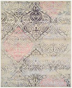 "Dalyn Neo Grey Moor Linen 5'3"" x 7'7"" Area Rug"