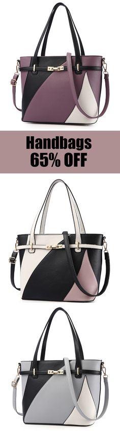Large-capacity Handbags Shoulder Messenger Bags For Women. #womens #bags #fashion