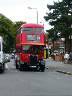 Vintage London Bus in Chingford London Transport, Public Transport, Rt Bus, Hyde Park Corner, Routemaster, Buses And Trains, Double Decker Bus, Bus Coach, London Bus