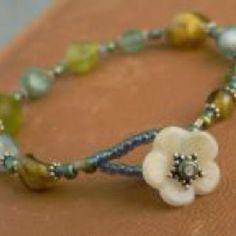 Beautiful beaded bracelet design
