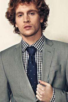 Franklin Knit Tie (Navy Blue) from Tie Society  (Spring 2012, The Well Dressed)