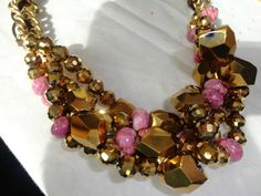 DIY necklace...Can't wait to try this.