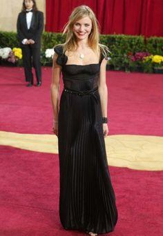 The 100 best Oscar dresses of all time : Cameron Diaz in Prada at the 2003 Oscars.