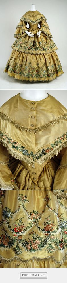Dress 1859 American | The Metropolitan Museum of Art
