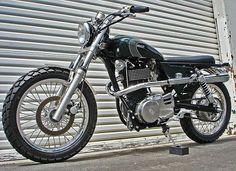 Suzuki Savage Scrambler Pipes Cafe Racer   Steet Scramblers ...
