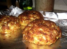 Best Gluten Free Crabcake Recipe I ever tried. #crabcakes #glutenfree #glutenfreecrabcakes  http://paleoheretic.com/the-perfect-gluten-free-crab-cake/