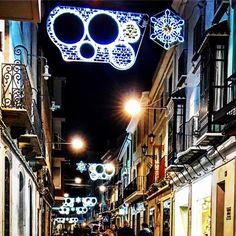 Noche brillante de inauguración del #alumbrado de #navidad en #Montilla