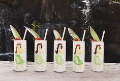 Aloha #vintage Hula -#Cocktail #Mai Tai #Hawaii #Maui #Bar #bartender #wedding #passeddrink #weddingcocktail #realwedding #catering #destinationevent #fresh #local #vintage #aloha