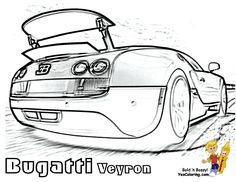 bugatti chiron coloring page - bugatti veyron super fast race car coloring passenger