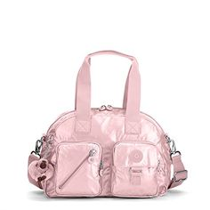 09a1bff0e Kipling Women's Defea Metallic Handbag - Icy Rose Metallic Pijama, Bolsos  Lindos, Mochilas,