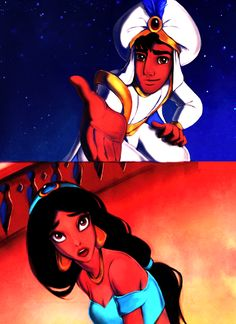 Aladdin & Jasmine :) Do you trust me?