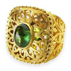 Double Tiered Tourmaline Ring