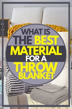 What Is the Best Material for a Throw Blanket? - Home Decor Bliss Home Decor Inspiration, Good Things, Blanket, Bliss, Design, Diy Projects, Posts, Decorating, Ideas