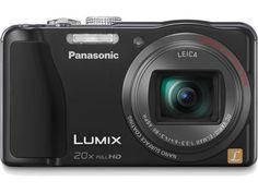 Panasonic DMC-ZS20K - NEW! LUMIX DMC-ZS20 14.1 Megapixel Digital Camera - Overview