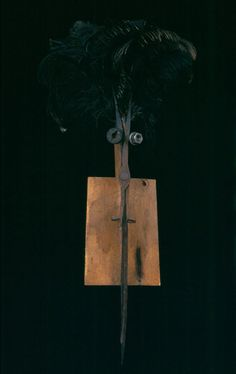 <p>Brushes, brooms, cleavers, knives and scissors are just some of the quotidian objects transformed by artist Thierry Despont into these mysterious sculptures featured in Masks.  Consisting of over t