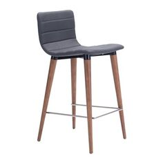 Zuo Modern 10027 Jericho Counter Height Chair (Set of 2)