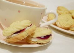 SiliconeMoulds.com Blog: Little Viennese Whirl Cookies / Biscuits