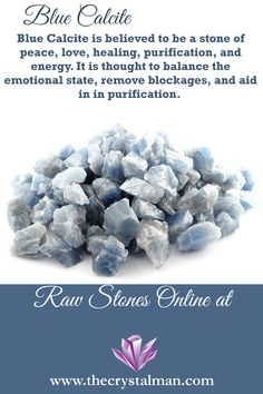 We monitor what is happening every day in the world of meditation and yoga . Chakra Crystals, Crystals And Gemstones, Stones And Crystals, Reiki Stones, Crystal Healing Stones, Blue Calcite, Calcite Crystal, Wholesale Crystals, Crystal Uses