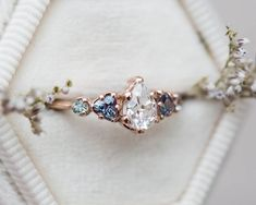 Dream Engagement Rings, Engagement Ring Settings, Vintage Engagement Rings, Vintage Rings, Engagement Rings With Sapphires, Harry Potter Engagement Ring, Moissanite Engagement Rings, Unconventional Engagement Rings, Most Beautiful Engagement Rings
