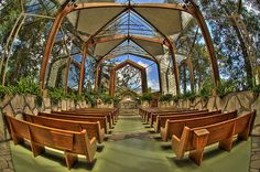 Wayfarer's Chapel by Nick  Carlson, via Flickr