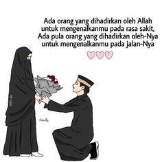 Untitled Islamic Love Quotes, Muslim Quotes, Salam Jumaat Quotes, Cinta Quotes, Islamic Cartoon, Cute Muslim Couples, Religion Quotes, Anime Muslim, Quotes Galau