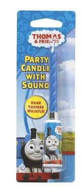 Thomas Train Party Candle with Sound - Train Party