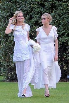 Resultado de imagem para cara delevingne wedding poppy