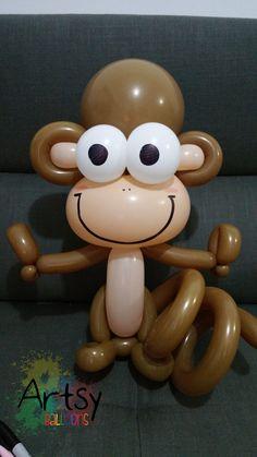 Balloon monkey                                                                                                                                                                                 More
