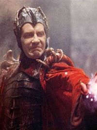 Mentioned on the show (# 73)  -David Warner as Evil Genius in Time Bandits.