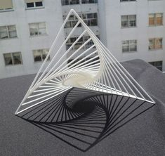 Manuel Diaz Regueiro | Mathematical Art Galleries Sculpture Metal, Geometric Sculpture, Geometric Art, Concept Architecture, Architecture Design, Module Design, Arch Model, Parametric Design, 3d Prints