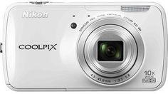 Nikon - Coolpix S800c 16.0-Megapixel Digital Camera - White