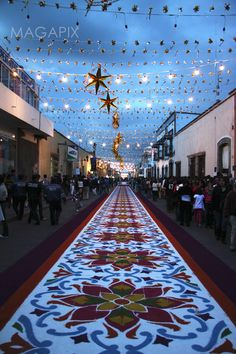 "Huamantla, Tlaxcala another ""Magic Town"" This is very close to where our Mexican… Mexican Art, Mexican Style, Beautiful World, Beautiful Places, Mexico Culture, Flower Rangoli, South Of The Border, Mexican Designs, Corpus Christi"