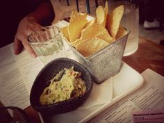 Guacamole at Wahaca, London, England.
