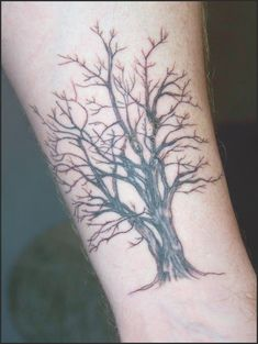 Tree tattoo | This is my first of many tattoos, right after … | Flickr #tattoo #tattooideas #tree