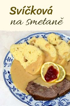 Czech Recipes, Ethnic Recipes, Lunch Snacks, Bon Appetit, Mashed Potatoes, Food And Drink, Cooking Recipes, Menu, Yummy Food