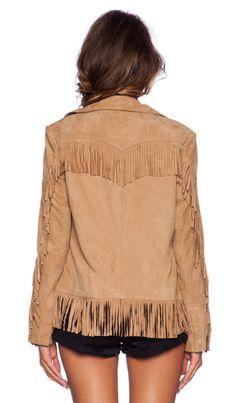 Fringe jacket-Revolve