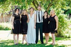 Fun Black Bridesmaid Dresses