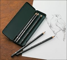 Faber-Castell Water-Soluble Graphite Pencils - Gardening