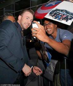 Chris Evans in LA_ BeforeWeGo