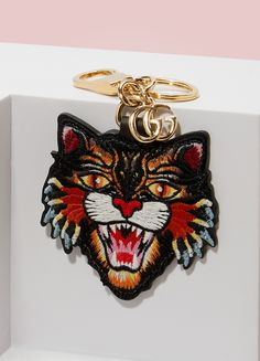 GUCCI Porte clé Angry Cat
