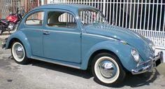 Volkswagen Fusca 1200 6 Volts Original Placa Preta Raridade