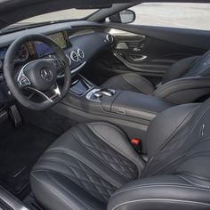 Two words can be used to describe the S65 AMG Coupe's interior: luxury and…