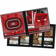 Chicago #Bulls Ticket Archive Book $11.95