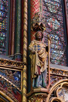 138 Sainte Chapelle 6. Los doce apóstoles