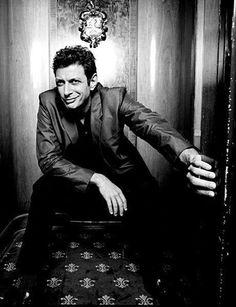 Jeff Goldblum. He kinda makes my teeth sweat.
