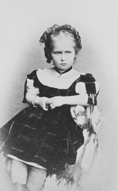 Princess Irene of Hesse, July 1870 [in Portraits of Royal Children Vol.14 1869-70] | Royal Collection Trust
