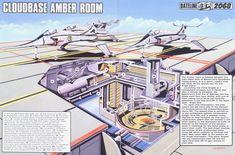 Captain Scarlet Cloudbase Amber Room by ArthurTwosheds.deviantart.com on @DeviantArt